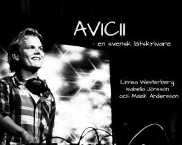 AVICII - en svensk låtskrivare