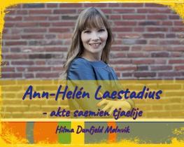 Ann-Helén Laestadius - akte saemien tjaelije