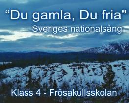 Sveriges nationalsång