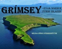 Grímsey- eyja norður fyrir Íslandi