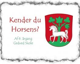 Kender du Horsens?