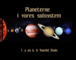 Planeterne i vores solsystem