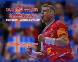 Guðjón Valur Sigurðsson- íslenskur handboltamaður